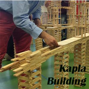 Team building creativo con i kapla